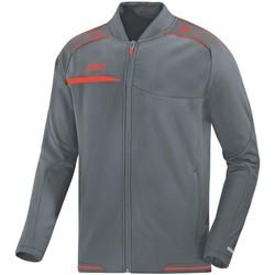 Kleidung Herren Trainingsjacken Jako Sport Clubjacke Prestige 6858 40 grau