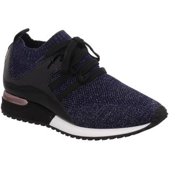 Schuhe Damen Sneaker Low La Strada Premium knitted blue 1816936-4560 blau
