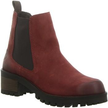 Schuhe Damen Low Boots Black Stiefeletten 253838000546 rot