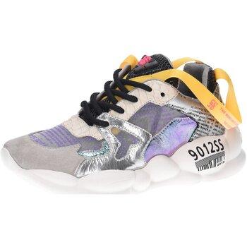 Schuhe Damen Sneaker Low Cljd 1015 bunt