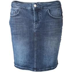 Kleidung Damen Röcke Rich & Royal Accessoires Bekleidung Jeans Skirt 1906-631 blau