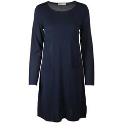 Kleidung Damen Kurze Kleider Six-O-Seven Accessoires Bekleidung ES51 ES51 605 blau