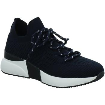 Schuhe Damen Sneaker Low La Strada Knitted sneaker blau