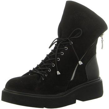 Schuhe Damen Boots Artiker Stiefeletten 43C319-1090-530 schwarz