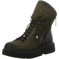 Schuhe Damen Boots Artiker Stiefeletten 43C320-402-0205 grün
