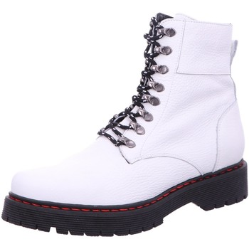 Schuhe Damen Boots Dna Stiefeletten -Schnür-Bootie 382939 white weiß