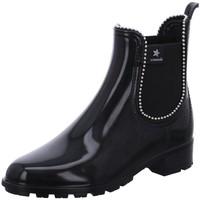 Schuhe Damen Boots Cubanas Stiefeletten Rainy 1130 schwarz