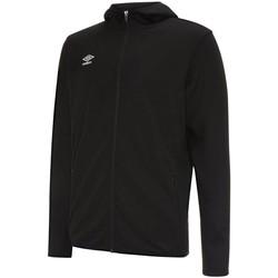 Kleidung Herren Trainingsjacken Umbro Sport Pro Hoody UMPF06-090 schwarz