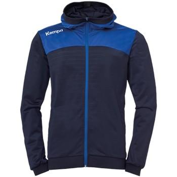 Kleidung Herren Trainingsjacken Kempa Sport EMOTION 2.0 HOOD JACKET 2002256 13 blau