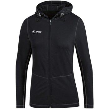 Kleidung Damen Trainingsjacken Jako Sport Kapuzenjacke Run 2.0 6875D 08 schwarz