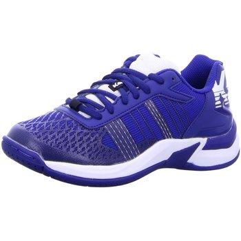 Schuhe Jungen Fitness / Training Uhlsport Hallenschuhe ATTACK CONTENDER JUNIOR 2008506 05 blau