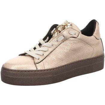 Schuhe Damen Sneaker Low Donna Carolina D.Halbschuhe 34.168.124-006 silber