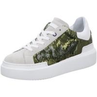 Schuhe Damen Sneaker Low Ed Parrish Sarah CKLD PA02 beige