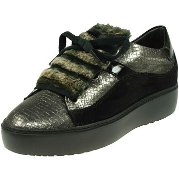 Schuhe Damen Sneaker Low Dl-Sport GOMMA PELLE 3616-94611-version-a schwarz