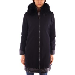 Kleidung Damen Jacken / Blazers Rrd LIGHT WINTER LADY FUR COAT schwarz