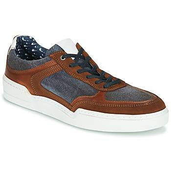 Schuhe Herren Sneaker Low Casual Attitude MELISSI Cognac