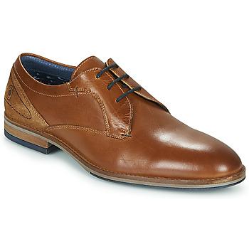 Schuhe Herren Derby-Schuhe Casual Attitude MONA Cognac