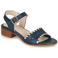Schuhe Damen Sandalen / Sandaletten Casual Attitude RINEILUE Schwarz / Silbern