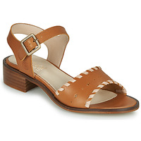 Schuhe Damen Sandalen / Sandaletten Casual Attitude MELIVELLANA Braun
