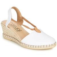 Schuhe Damen Sandalen / Sandaletten Casual Attitude MAYA Weiss