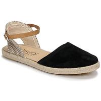 Schuhe Damen Sandalen / Sandaletten Casual Attitude MADELEINE Schwarz