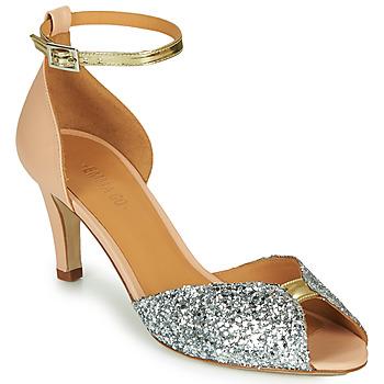 Schuhe Damen Sandalen / Sandaletten Emma Go JOLENE GLITTER Rose / Silbern / Gold