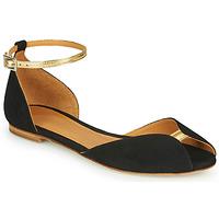 Schuhe Damen Sandalen / Sandaletten Emma Go JULIETTE Schwarz / Gold