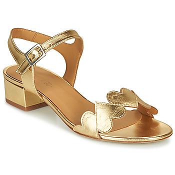 Schuhe Damen Sandalen / Sandaletten Emma Go POPPY Gold