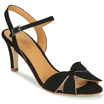 Schuhe Damen Sandalen / Sandaletten Emma Go SELENA Schwarz
