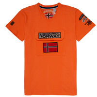 Kleidung Jungen T-Shirts Geographical Norway JIRI Orange