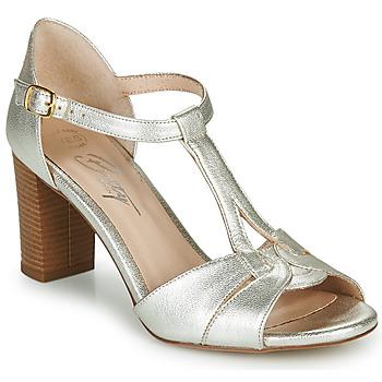 Schuhe Damen Sandalen / Sandaletten Betty London MATINA Silbern
