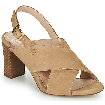 Schuhe Damen Sandalen / Sandaletten Betty London MARIPOL Beige