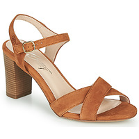 Schuhe Damen Sandalen / Sandaletten Betty London MOUDINE Cognac
