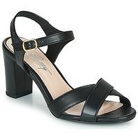 Schuhe Damen Sandalen / Sandaletten Betty London MOUDINE Schwarz