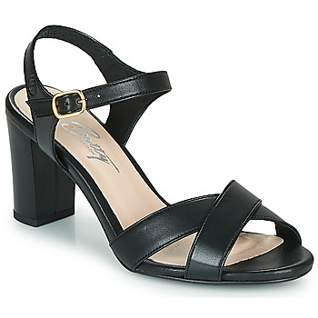 Schuhe Damen Sandalen / Sandaletten Betty London MOUDINE Schwarz