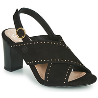 Schuhe Damen Sandalen / Sandaletten Betty London MADINE Schwarz