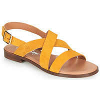Schuhe Damen Sandalen / Sandaletten Betty London MADISSON Gelb