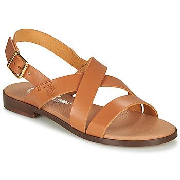 Schuhe Damen Sandalen / Sandaletten Betty London MADI Cognac