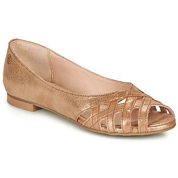 Schuhe Damen Sandalen / Sandaletten Betty London MANDINE Gold