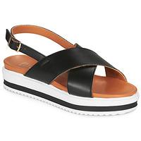 Schuhe Damen Sandalen / Sandaletten Betty London MAFI Schwarz