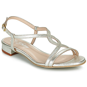 Schuhe Damen Sandalen / Sandaletten Betty London MATISSO Silbern