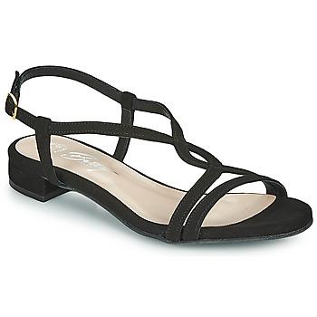 Schuhe Damen Sandalen / Sandaletten Betty London MATISSO Schwarz