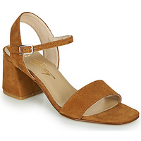 Schuhe Damen Sandalen / Sandaletten Betty London MAKITA Cognac