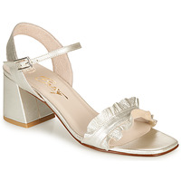 Schuhe Damen Sandalen / Sandaletten Betty London MARIKA Silbern