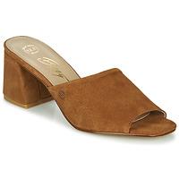 Schuhe Damen Pantoffel Betty London MELIDA Cognac