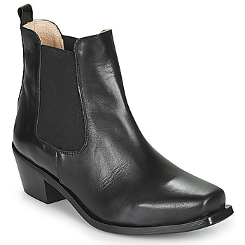 Schuhe Damen Low Boots Betty London MERKATO Schwarz