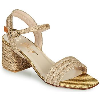 Schuhe Damen Sandalen / Sandaletten Betty London MILLO Beige