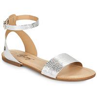 Schuhe Damen Sandalen / Sandaletten Betty London GIMY Silbern