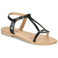 Schuhe Damen Sandalen / Sandaletten Betty London MISSINE Schwarz