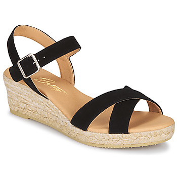 Schuhe Damen Sandalen / Sandaletten Betty London GIORGIA Schwarz